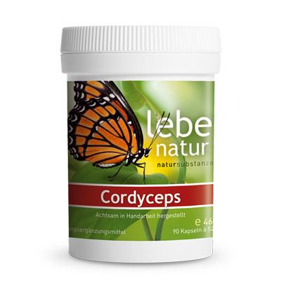 Cordyceps Pilz BIO-90-Kps