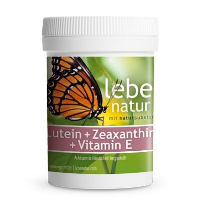 Lutein u. Zeaxanthin u. Vitamin E-90-Kps