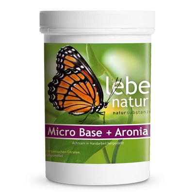 Micro Base u. Aronia Basenpulver-360-g