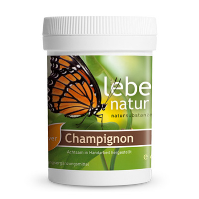 Vitamin D Pulver aus Champignons BIO-45-g