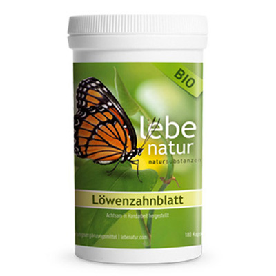 Loewenzahnblatt BIO-180-Kps