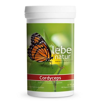 Cordyceps Pilz BIO-180-Kps