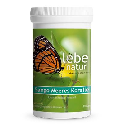 Sango Meeres Koralle mit Vitamin K2-180-Kps